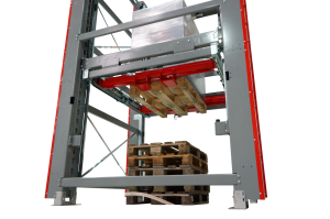 Prorunner mk10-PS: extremely compact automatic pallet stacker